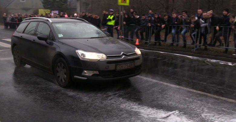 Na przejściu, na którym w Mysłowicach 11 września tego roku Maria Mol została potrącona przez samochód dzisiaj odbył się specjalny pokaz