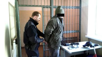Z bronią na pracodawcę. Ukrainiec aresztowany (fot.KSP)