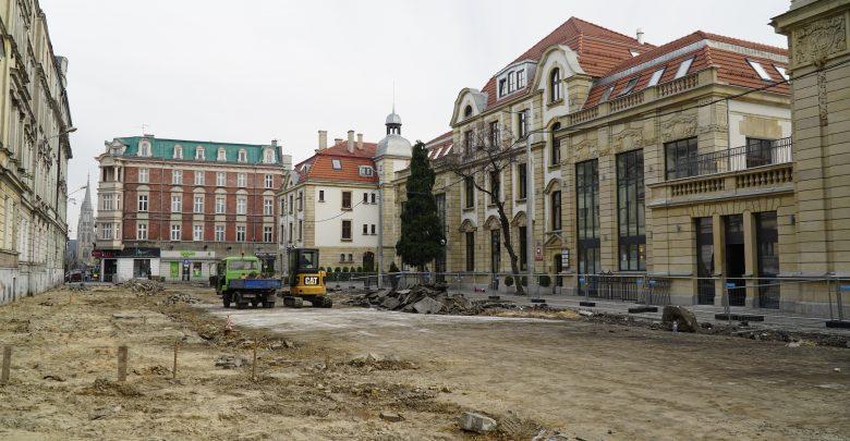 Katowice: Kolejny etap rewitalizacji ul. Dworcowej (fot.UM Katowice)