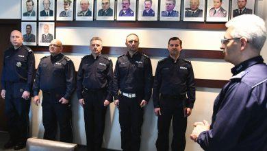 Zmiany na stanowiskach kierowniczych w jednostkach śląskiego garnizonu (fot.Śląska Policja)
