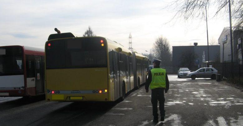 Śląskie: Pijany Ukrainiec za kierownicą autobusu miejskiego. To nie pierwszy raz! (fot. KPP Będzin)