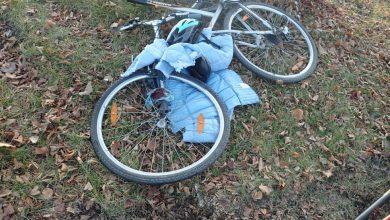 Ciężko ranna rowerzystka w szpitalu. Kierowca nie udzielił jej pierwszeństwa (źródło: kmp w Rybniku)