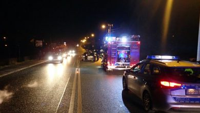 Śląskie: 65-latek wbiegł wprost pod nadjeżdżający samochód (fot.Śląska Policja)