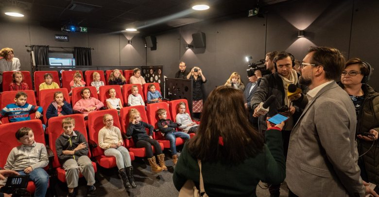 """Wielkie otwarcie najmniejszego kina Śląska! Chorzowskie kino """"Frajda"""" zaprasza (źródło: Paweł Mikołajczyk)"""