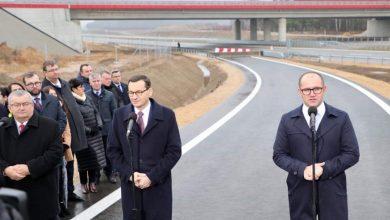 Prezent od drogowców na święta. Odcinek A1 w Częstochowie już otwarty! (fot.slaskie.pozytywna energia/facebook)