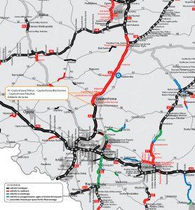 Dali radę! Już 23 grudnia otwarcie 20 km autostrady A1 w Częstochowie! (fot.GDDKiA)