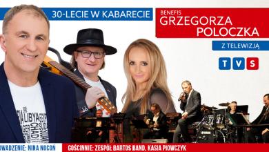 Grzegorz Poloczek - 30-lecie w Kabarecie (fot. TVS)