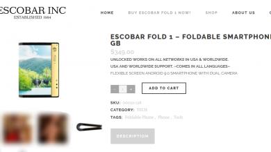 Escobar wypuszcza na rynek składany smartphone. Ten Escobar, a właściwie jego brat Roberto (fot. Escobar INC)