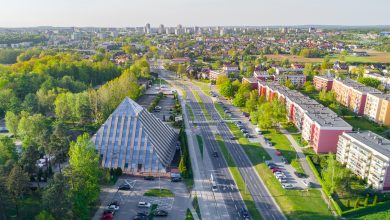 Bezpieczniej na przejściach dla pieszych w Tychach (fot.UM Tychy)