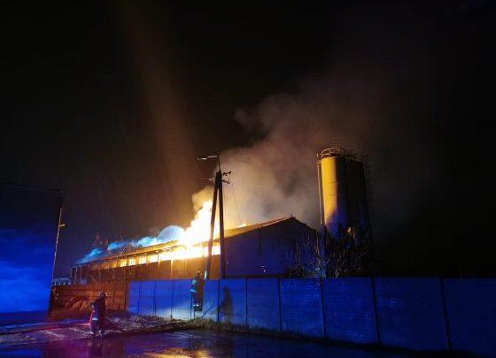 Ogromny pożar w Jaworznie. Łuna nad całym miastem! (fot.www.jaw.pl)
