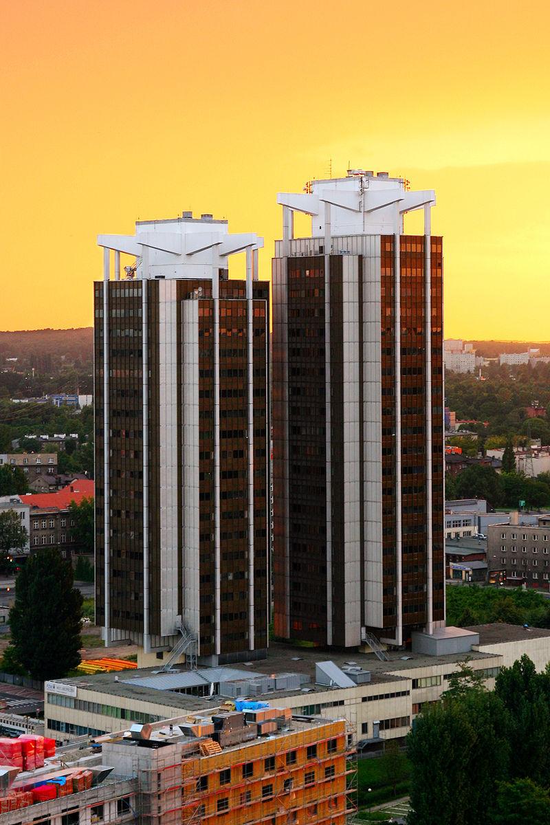 TOP 5 najwyższych budynków w Katowicach [RANKING] Dwa z nich są jeszcze w budowie!