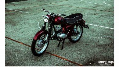 Ten legendarny motor SHL, model M11, który ma już ponad 50 lat można kupić na aukcji na rzecz Wielkiej Orkiestry Świątecznej Pomocy
