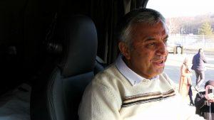 To zupełnie inna bajka i naprawdę spełnienie marzeń - mówi Fardin Kazemi, kierowca ciężarówki z Iranu
