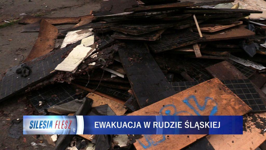 Groźny pożar wybuchł po godzinie 4:00 rano na poddaszu familoka przy ul. Krasińskiego. Konieczna była ewakuacja 23 osób