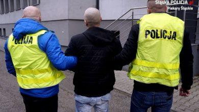 Piekary Śląskie: Rzucił się z pięściami na policjantów. Tego samego dnia wyszedł z aresztu (fot.Śląska Policja)