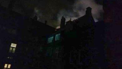 Bytom: fajerwerki doprowadziły do pożaru budynku. Zniszczone auta [ZDJĘCIA]