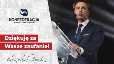 Krzysztof Bosak kandydatem Konfederacji na prezydenta. Fot. FB/Krzysztof Bosak