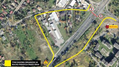 Remont DK 94 w Sosnowcu: będzie darmowy przewóz uczniów (fot.UM Sosnowiec)