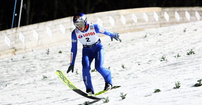Dawid Kubacki liderem Turnieju Czterech Skoczni. Fot. UM Wisła