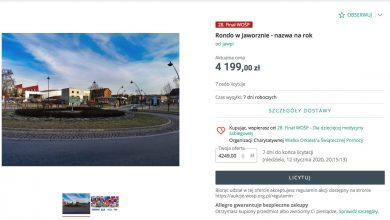 W Jaworznie można sobie kupić rondo w centrum miasta