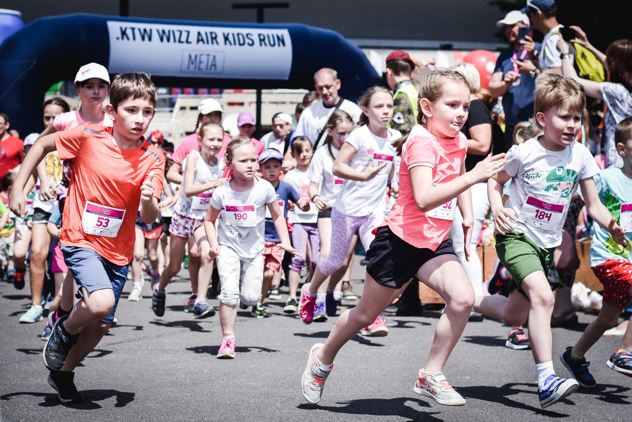 3rd Wizz Air Katowice Half Marathon - biegi i atrakcje dla najmłodszych (fot. Jasmin_Dameh)