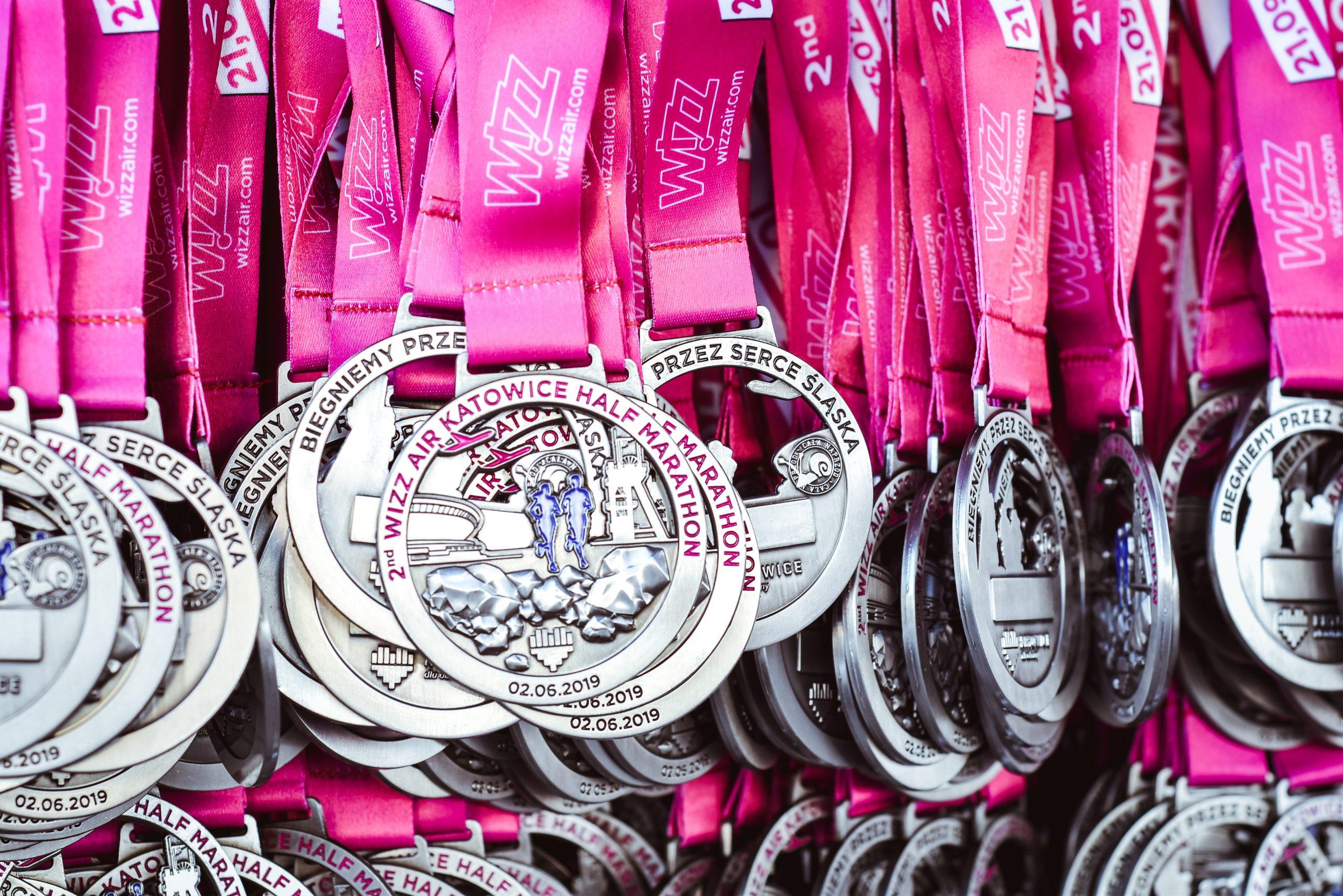 3rd Wizz Air Katowice Half Marathon - super pakiet startowy i pamiątkowy medal na mecie (fot. Jasmin_Dameh)