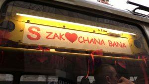 Katowice: Zakochana Bana woziła w Walentynki zakochanych. W sobie i w tramwajach ;)
