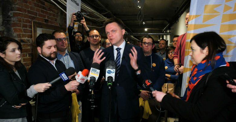 Szymon Hołownia otworzył swoje biuro w Katowicach i tym samy rozpoczął w woj. śląskim kampanię wyborczą przed wyborami prezydenckimi