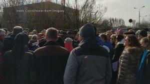 W Częstochowie mieszkańcy protestują przeciwko budowie zakładu, który miałby produkować paliwo alternatywne