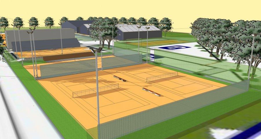 Tu będą grali następcy Federera?! Bytom wykłada MILION na korty tenisowe [FOTO]. Fot. UM Bytom