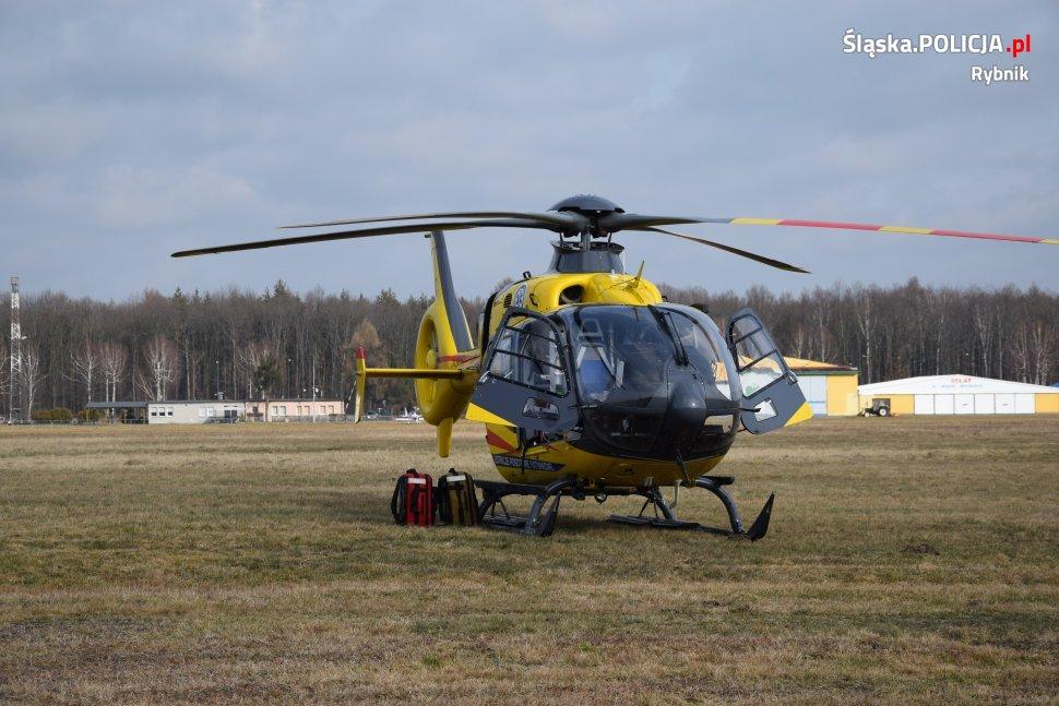Tragedia w Rybniku! Motoparalotniarz spadł tuż przy płycie lotniska [NOWE FAKTY]