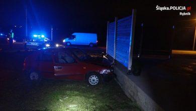 Śląskie: Policyjny pościg za 16-latkiem. Straty, które spowodował będą musieli pokryć jego rodzice (fot.Śląska Policja)