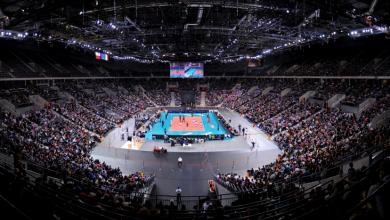 Liga Mistrzów w Gliwicach! Mecz ZAKSA - Kuzbass w Arena Gliwice! (fot.Arena Gliwice)
