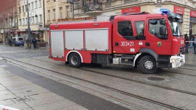 Katowice: Rondo już otwarte. Teraz zamknięta 3 Maja przez tajemniczy pakunek! (fot.Rafał Kulig)