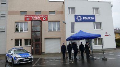Świerklany mają nowy posterunek policji. Właśnie oddano go uroczyście do użytku (fot.ŚUW w Katowicach)
