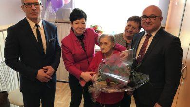 Chorzów ma kolejną 100-latkę! Pani Stefanii całe miasto życzy 200 lat! (fot. UM Chorzów)