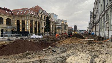 Katowice: Ulica Dworcowa staje się powoli deptakiem miejskim (fot.UM Katowice)
