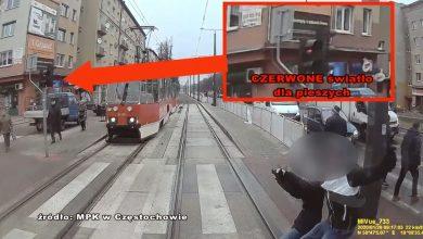 28 stycznia w okolicach alei Pokoju w Częstochowie doszłoby do tragicznego wypadku. Kobieta w ciąży zignorowała czerwone światło i prawie weszła pod tramwaj cudem unikając śmierci. Na szczęście tym razem nic się nie stało.