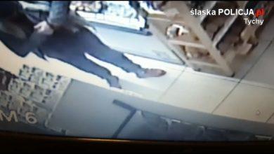 Złodziej w Tychach ukradł szynkę i przywalił z pięści w twarz policjantowi! (fot.KMP Tychy)