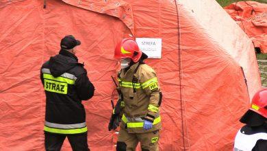 Epidemia koronawirusa: Śląskie szykuje się na koronawirusa. Specjalne ćwiczenia strażaków w Chorzowie