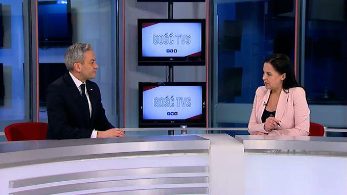 Gościem najnowszego wydania programu GOŚĆ TVS był Robert Biedroń - eurodeputowany i kandydat na prezydenta Polski