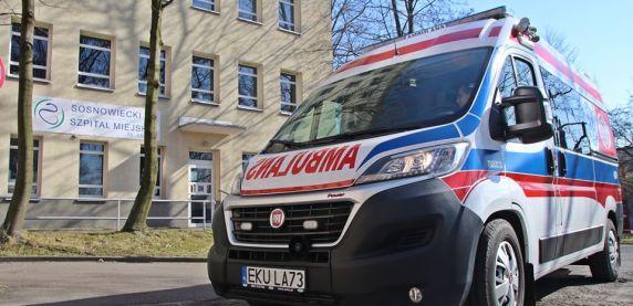 Sosnowiec: Milion złotych dla szpitala, w tym ambulans z respiratorem