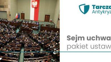 Pakiet dotyczący tarczy antykryzysowej uchwalony przez Sejm. Co przewiduje pakiet? (fot.MI)