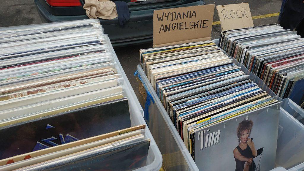 Płyty winylowe? Tysiące ich można znaleźć na każdej giełdzie staroci w Bytomiu
