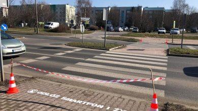 Odłóż smartfon i żyj – Sosnowiec ostrzega na przejściach dla pieszych. Fot. FB/Arkadiusz Chęciński