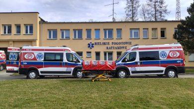 Koronawirus na Śląsku: Bielskie Pogotowie Ratunkowe kupiło Bio-Bag. Co to jest? [ZDJĘCIA]