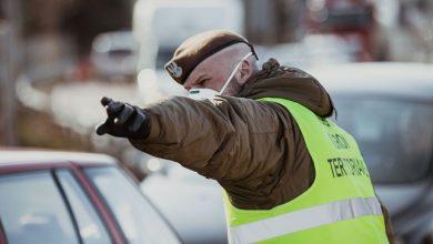 Epidemia koronawirusa: Terytorialsi trafili na granice. Pomagają w kontrolach Straży Granicznej. foto: Wojska Obrony Terytorialnej/facebook