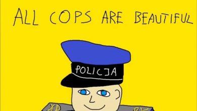 Polska policja zaorała dzisiaj internet. Nie ma czego zbierać ;) (foto Policja Polska)