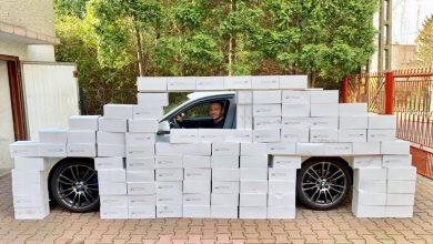 Radny z Sosnowca Łukasz Litewka działa na własną rękę pomagając tym najbardziej potrzebującym! [fot. Łukasz Litewka]