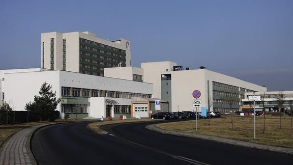 Wojewódzki Szpital Specjalistyczny nr 3 w Rybniku wstrzymał przyjęcia. Pacjent z podejrzeniem koronawirusa (fot.WSS w Rybniku)